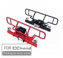 Parachoques de Metal para coche de juguete RC4WD 1/10 Gelande II Cruiser/FJ40 RHINO RC