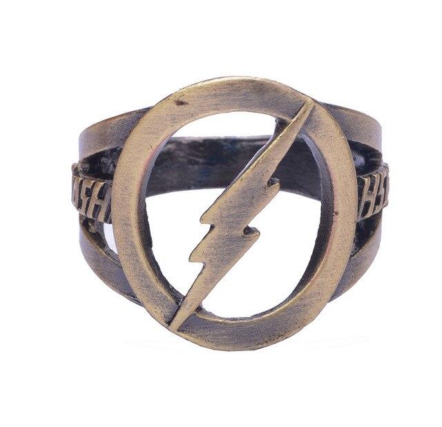 Кольцо с логотипом Флеш DS Comics 1