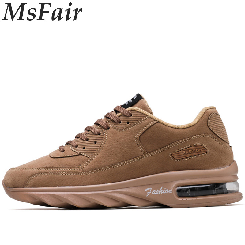 MSFAIR New Men Running Shoes Outdoor Athletic Jogging Sport Shoes For Men Summer Breathable Man Brand Run Walking Mens Sneakers