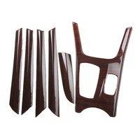 For 2011 201 BMW X3 X4 Peach wood frame Radio Audio Panel Dash Mount Trim Refitting Kit Fascia Face Surround Frame