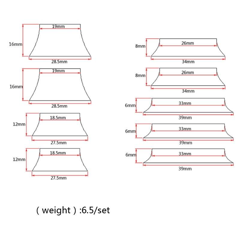 Musical Instruments 9pcs Guitar Block Fretboard Fingerboard Markers Inlay Materials For Guitar Parts Ki-5u87