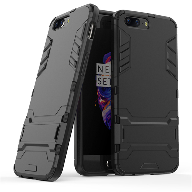 quality design 6287c e0df2 US $4.19 |Wellendorff for Oneplus 3 3T 5 Hybrid Armor Defender Case Dual  Layer Heavy Duty Full Protection Shockproof Stand Mode Cover Capa-in Phone  ...