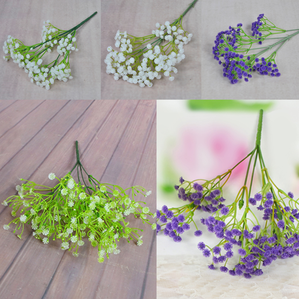 Small fresh style branch gypsophila paniculata artificial flowers small fresh style branch gypsophila paniculata artificial flowers bridal bouquet photo props home decoration in artificial dried flowers from home izmirmasajfo