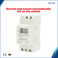 12V weekly programmable timer with sunrise sunset automaticaly open close switch function16times on/off time set range1min 168H