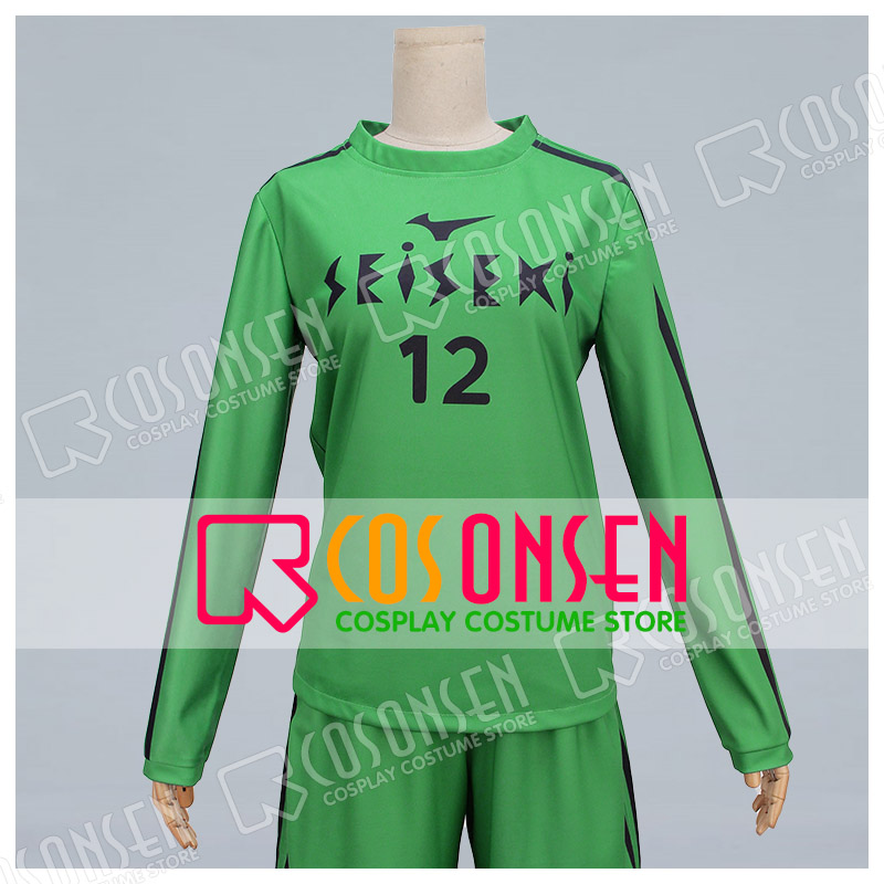 COSPLAYONSEN DAYS Nakijin sho Cosplay Costume adult costume full set green color