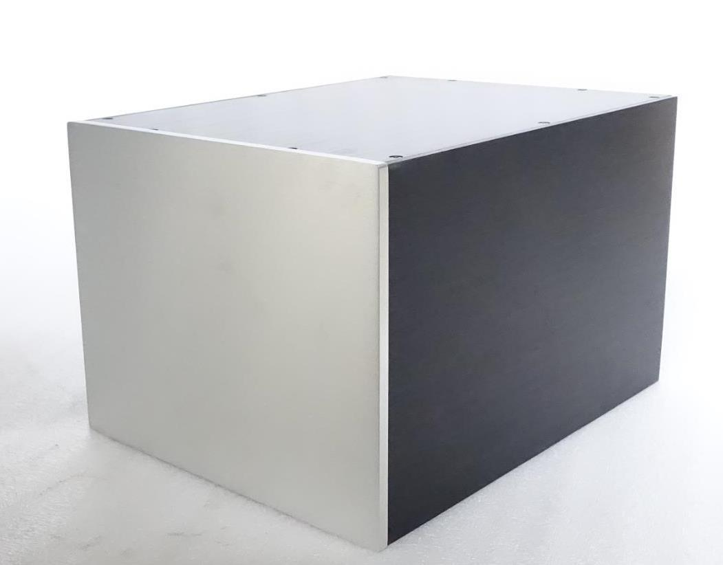 Full aluminum enclosure chassis for Isolated Power supply PSU box