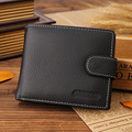 Hot Sell Luxury Purses Men 2016 Fashion Brand Men Wallets,Ultra-thin Leather Wallets Fashion Mens Money Clip Bifold Wallet Purse