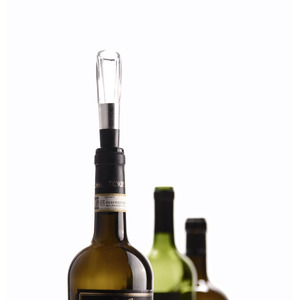 Image 5 - Youpin Circle Joy Wine Aerating Pourer Wine Decanter Aerator Stainless Steel Quick Decanting