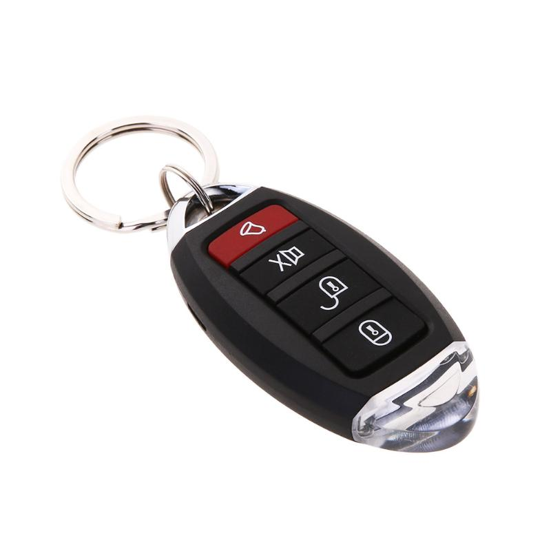 Car Vehicle Burglar Alarm Central Door Lock Keyless Entry Security System With Remote Controllers Car Alarm System Universal