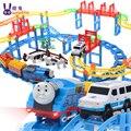 Juguetes Chuggington Carros Pixar Brinquedos Thomas E Amigos Conjunto Com O Transporte Ferroviário Elétrico Musical Flash Slot Para Crianças Presente de Aniversário Menino