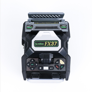 Image 5 - Fiber Optical Core Alignment Fusion Splicer Komshine FX37 with KF 52 Cleaver 72,000 cleavers