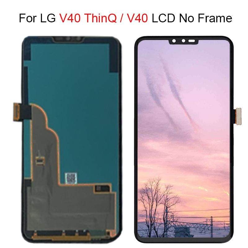"""6.4"""" 100% Tested For LG V40 LCD Screen Touch Screen Digitizer Assembly For LG V40 ThinQ LCD V 40 Display Replacement +Free Tools"""
