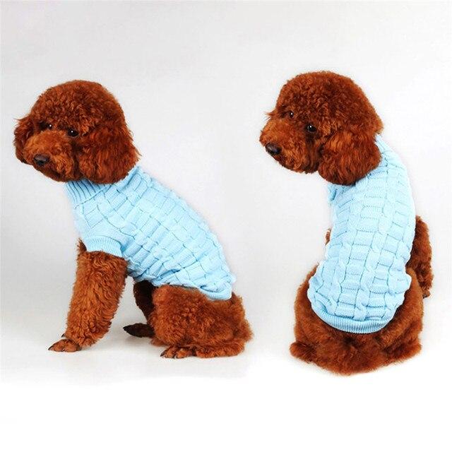Ropa de perro Otoño Invierno caniche Yorkshire Chihuahua suéter ropa ...