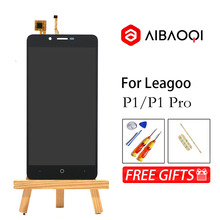 AiBaoQiใหม่5.0นิ้วTouch Screen + 1280X720 LCDจอแสดงผลสำหรับLeagoo P1/P1 pro