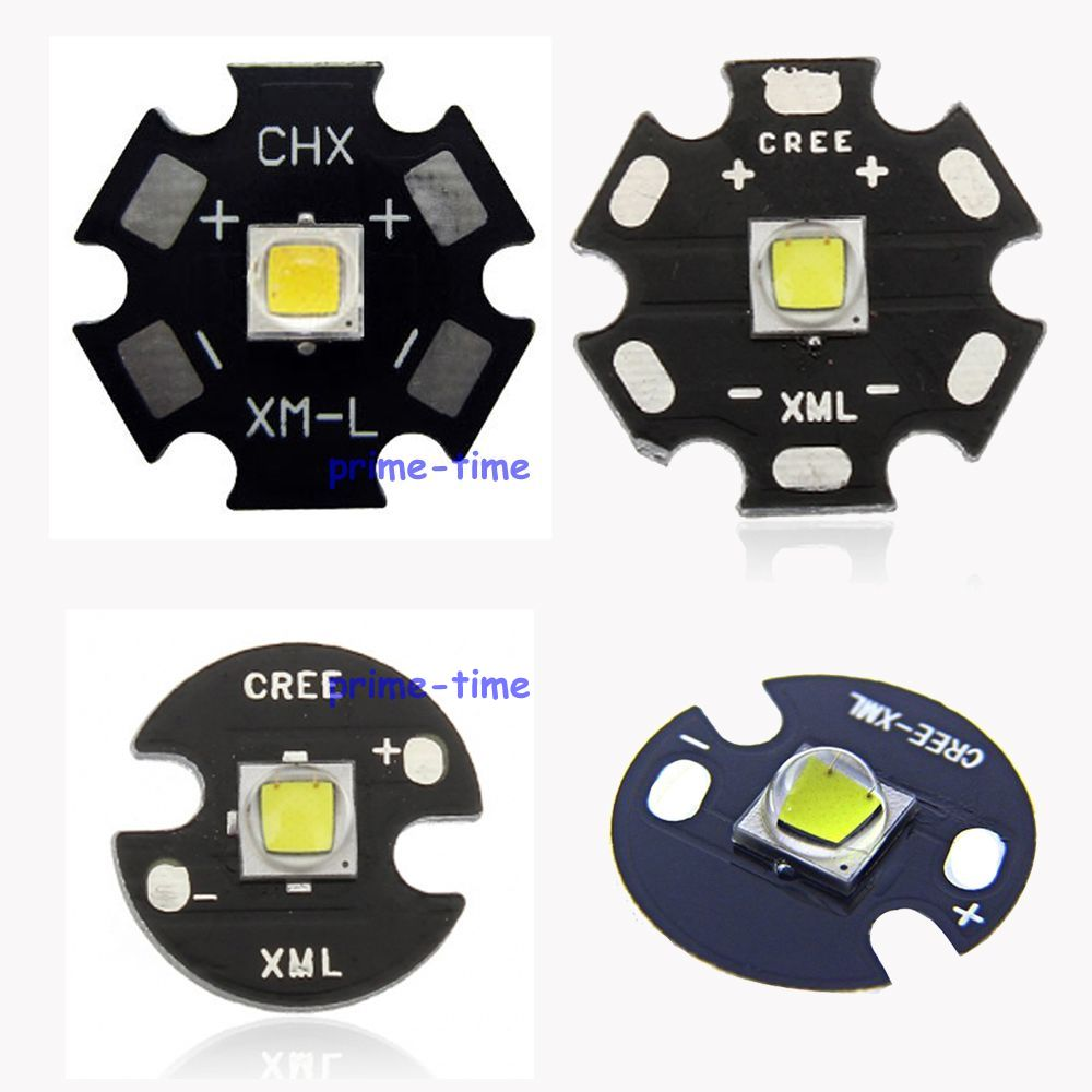 Home original cree xm l2 xml2 led emitter lamp light cold white - Cree Xml2 Led Xm L2 T6 10w White Neutral White Warm White High Power Led Emitter With 16mm 20mm Pcb For Flashlight Torch
