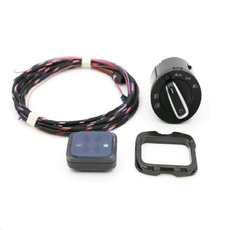 Auto Phare Commutateur Capteur de Pluie + Fil/Câble/Harnais Pour Golf 6 Tiguan Jetta MK5 MK6 Touran 1K0 955 559 AH 1K0955559AH
