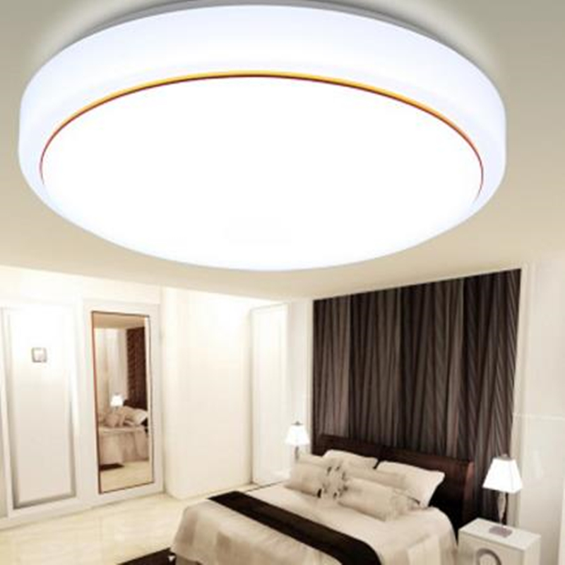 5W 12W 15W 18W 24W  36W 48W 72W 5730 SMD Acrylic Of bread Led Ceiling Light AC85~265V Bedroom Kitchen Lamps,study,Foyer light lexing lx r7s 2 5w 410lm 7000k 12 5730 smd white light project lamp beige silver ac 85 265v