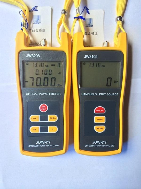 Fiber Optic Multimeter Sm Amp Mm Jw3208a Handheld 70 6dbm
