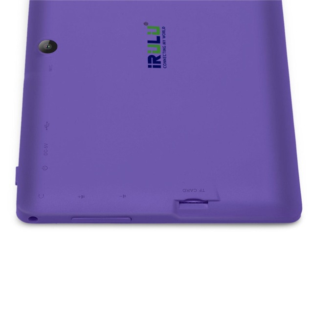 Original iRULU eXpro X1 7″ Tablet PC Android 4.4 1024*600 HD Quad Core 16G ROM Dual Cam Support WIFI Multi-Colors w/ 16G TF Card