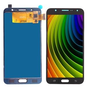 Image 4 - J710 ЖК дисплей для Samsung Galaxy J7 2016 и сенсорный экран дигитайзер сборка Регулируемая Sm J710f J710m J710h + Клей Инструменты