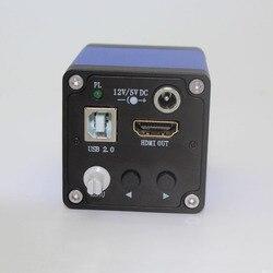 1080P Full HD HDMI USB mikroskopowa kamera przemysłowa telefon komórkowy konserwacja laboratorium aplikacja inspekcja PCB|pcb inspection|microscope cameraindustrial microscope -
