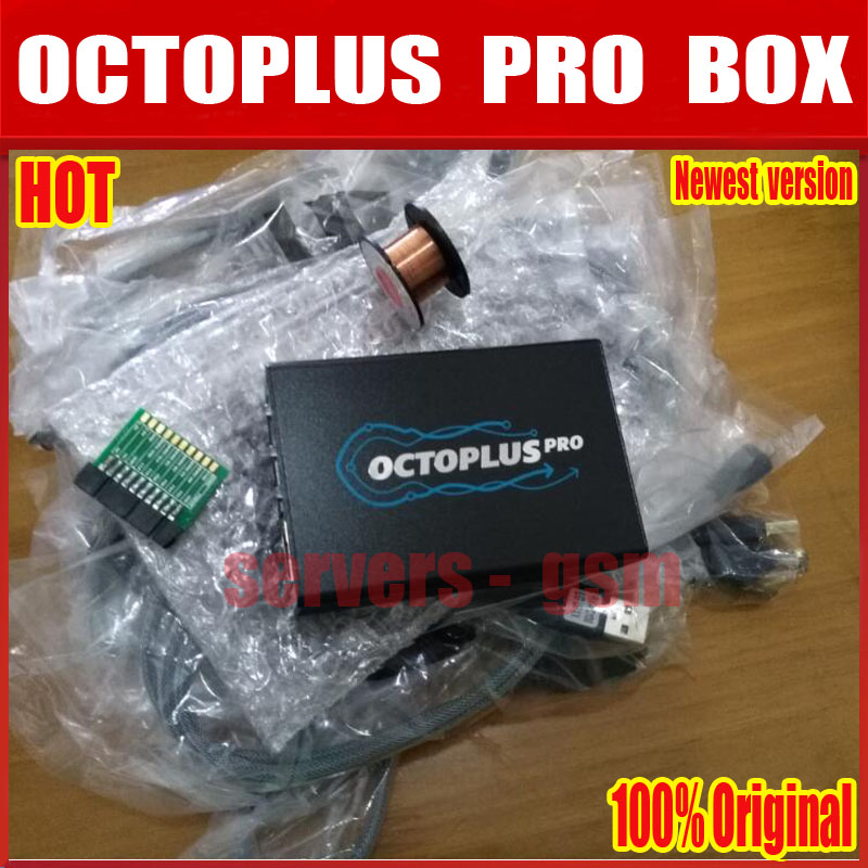 2018 New Version Original Octoplus Pro Box + 19 Cable Set for Samsung for LG +eMMC/JTAG Activated