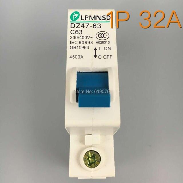 Ce mark 1p dz47 32a din rail 230400v 50hz60hz mini circuit ce mark 1p dz47 32a din rail 230400v 50hz60hz publicscrutiny Image collections