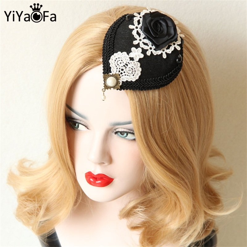 vintage style hair accessories yiyaofa handmade retro clip hair accessories fashion 3068