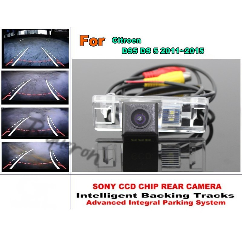 For Citroen DS5 DS 5 2011~2015 Intelligent Car Parking Camera / with Tracks Module Rear Camera CCD Night Vision