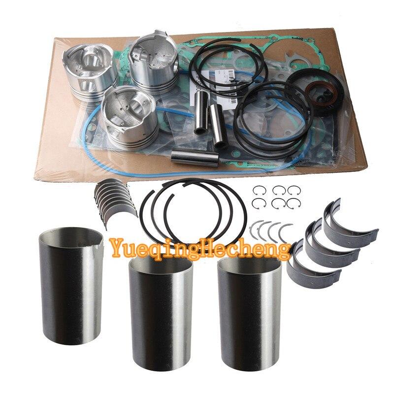 Rebuild Kit per Yanmar Motore 3T72 YM180 YM169 YM186 YM187 YM180D YM187D YM186DRebuild Kit per Yanmar Motore 3T72 YM180 YM169 YM186 YM187 YM180D YM187D YM186D