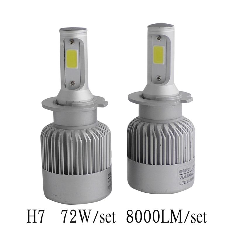 2017 Yeni Plug & Play H4 H7 Led Avtomobil Fara H1 H4 H7 H8 H9 H11 LED - Avtomobil işıqları - Fotoqrafiya 6