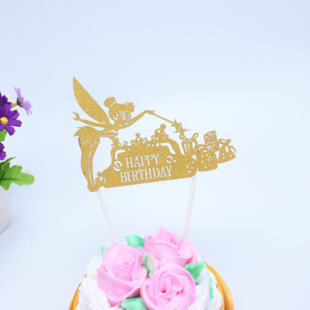 Aliexpress.com : Buy 1pc Multi Colors new Happy Birthday Cake Flag ...