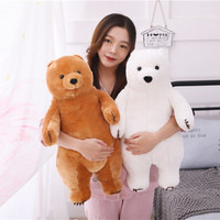 Grizzly Bear Plush Toy New Arrived Bear Plush Doll Teddy Bear Soft Stuffed Doll 60cm Size Gift For Kids Birthday