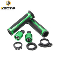 Good Rubber With Alumium Cheaper 7 8 Inch 22mm Hand Grips Motorcycle Handlebar Fit On Motorbike