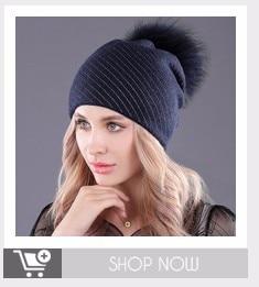 [boapt] rhinestones diamond pearl double-deck knitted cashmere winter hats women cap real raccoon fur pompom hat female beanie