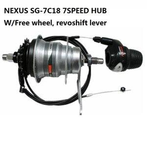 Image 1 - محور فرامل 36h من Nexus SG 7C18 محور داخلي خلفي 7 سرعات مع فرامل كوستر SG7C18 freehweel وrevoshift