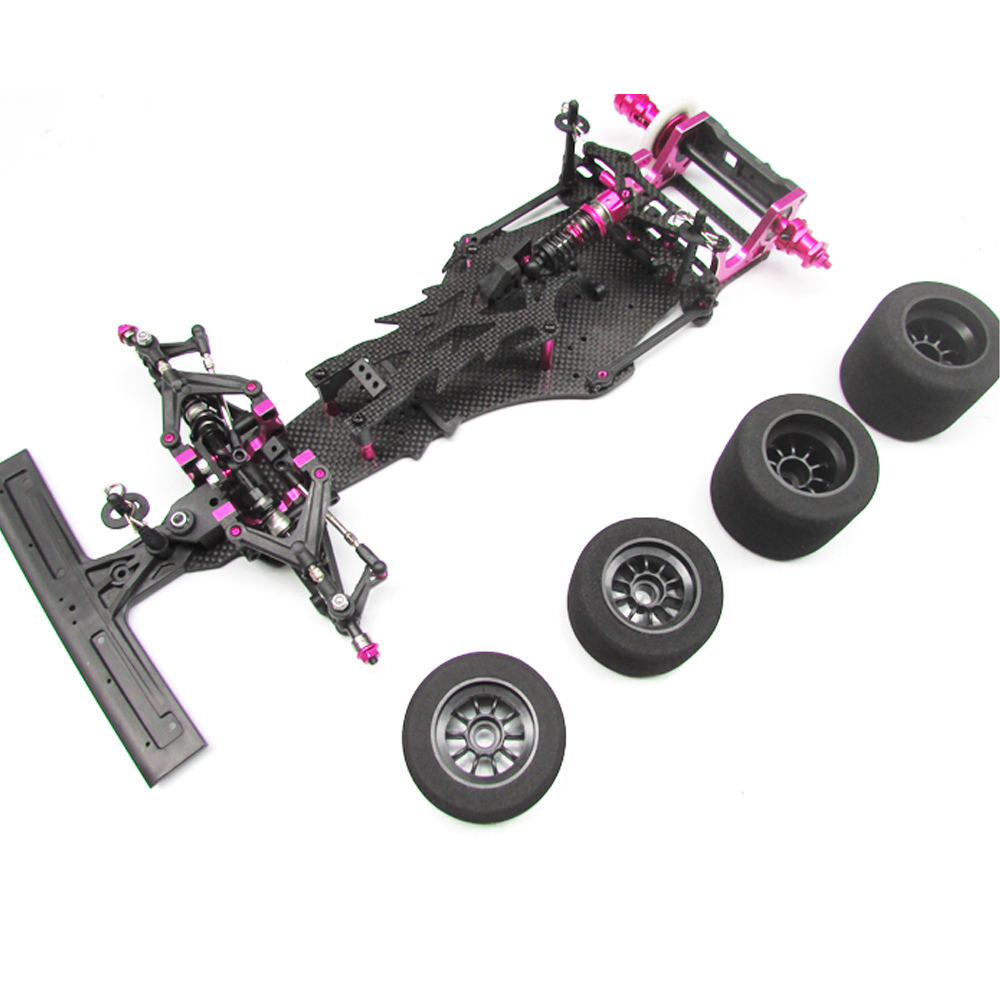 CN CR F113P Carbon Fiber 1/10 2WD Electric F1 Racing Power On Road RC Car Kit Frame Chassis Body Parts Without Electric Parts