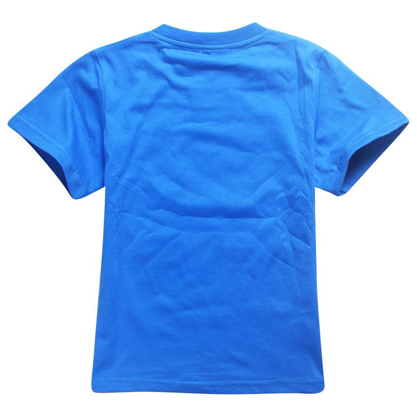 HTB1E83sPVXXXXafaXXXq6xXFXXXL - Cute T Boys Girls T-shirt Baby Clothing Little Boy Girl Summer Shirt Cotton letter R printing Robot Tops Tees Clothes 4-12 years