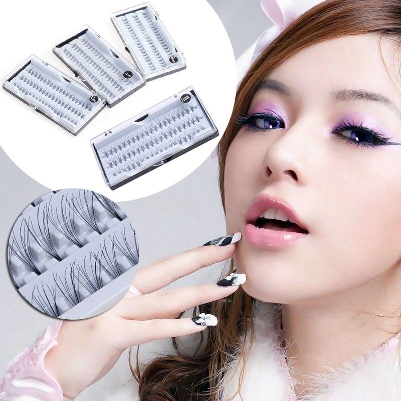 8101214mm Makeup Individual Cluster Eyelashes False Eye Lashes