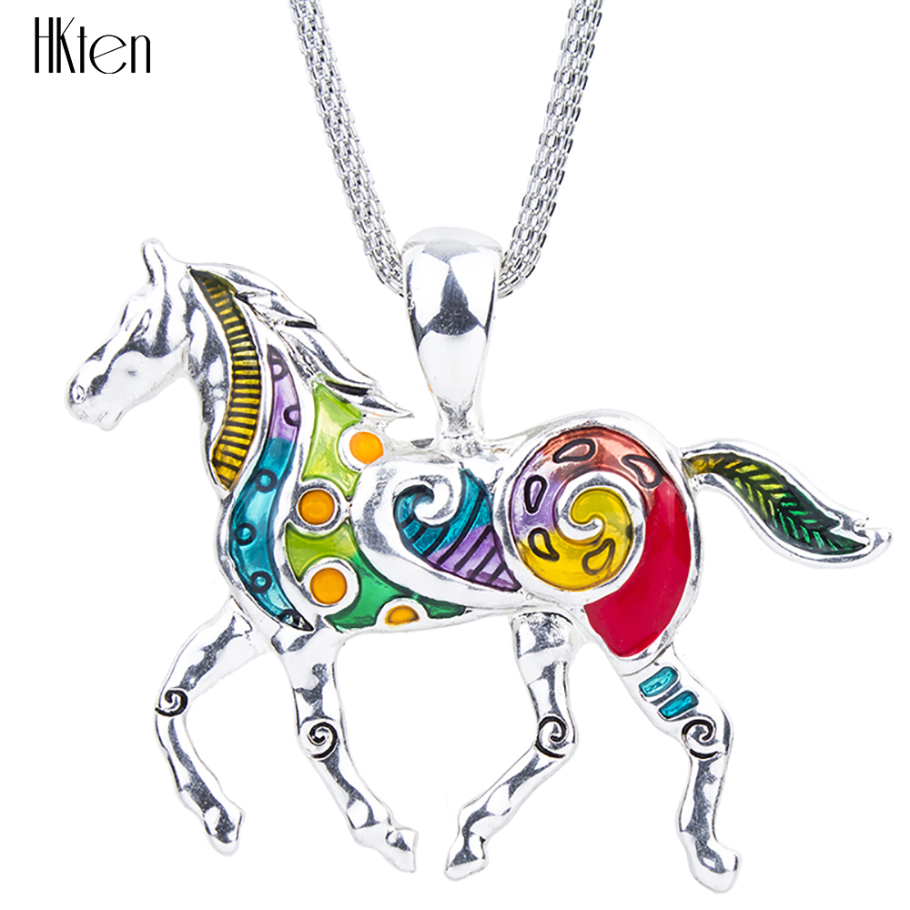 spirit women product jewelry southwest gift her gemstone horse necklace unique totem jewellery handmade for
