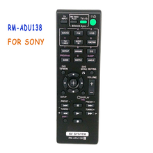 цена на FREE SHIPPING New replacement Remote Control RM-ADU138 For Sony AV SYSTEM DVD/CD AUDIO
