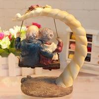 Home Decoration Accessories Resin Mother Gifts Wedding Decoration Terrarium Figurines Souvenir Figures For the Garden