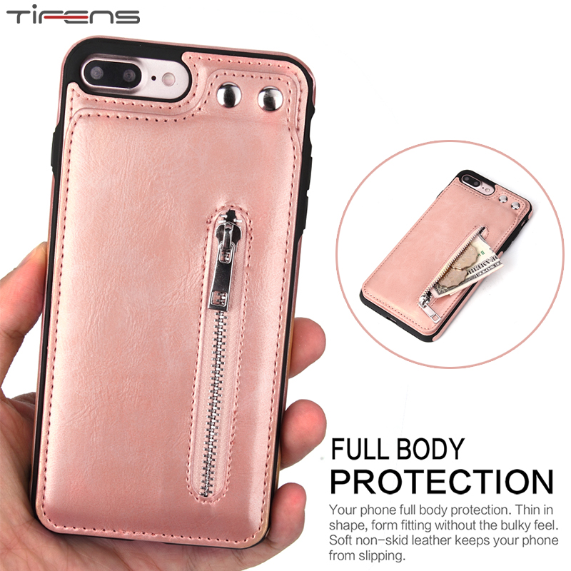 Luxury Leather Wallet Card Slot Stand Cover Case For <font><b>iPhone</b></font> X XR XS MAX 5 6 6s 7 <font><b>8</b></font> Plus 5s SE 8Plus XSMAX <font><b>256gb</b></font> Phone Coque Etui image