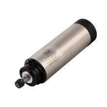 1.5KW 65 มม.ER11 220V CNC แกนระบายความร้อนด้วยอากาศมอเตอร์ 4 แบริ่ง 24000 RPM Air Cooling แกะสลักแกน
