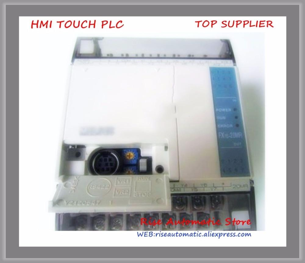 FX1S-20MR FX1S-20MR-001 PLC 24V DC Relay Output Base Unit New Original 100% test good quality new original fx1s 20mr 001 plc 24v dc relay output base unit