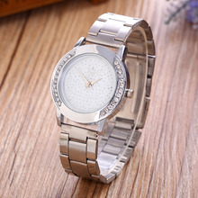 2017 New Clock Luxury Brand DQG Fashion Quartz Watches Ladies Crystal Dial Stainless Steel Straps Women's Wrist Watch Hot Sale 2017 hot sale brand women men s clock luxury stainless steel watches crystal analog quartz bracelet wrist watch m19