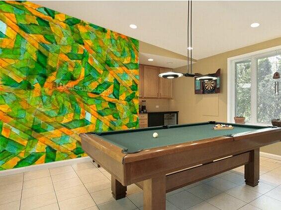 Retro Art Woonkamer : Custom d retro art behang picasso groen geel kubisme voor
