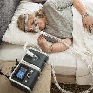 Image 5 - BMC аппарат искусственного дыхания Reslex путешествия Портативный с проветривание носовые набивная Маска Мешок шланга дыхательный аппарат для апноэ сна терапии