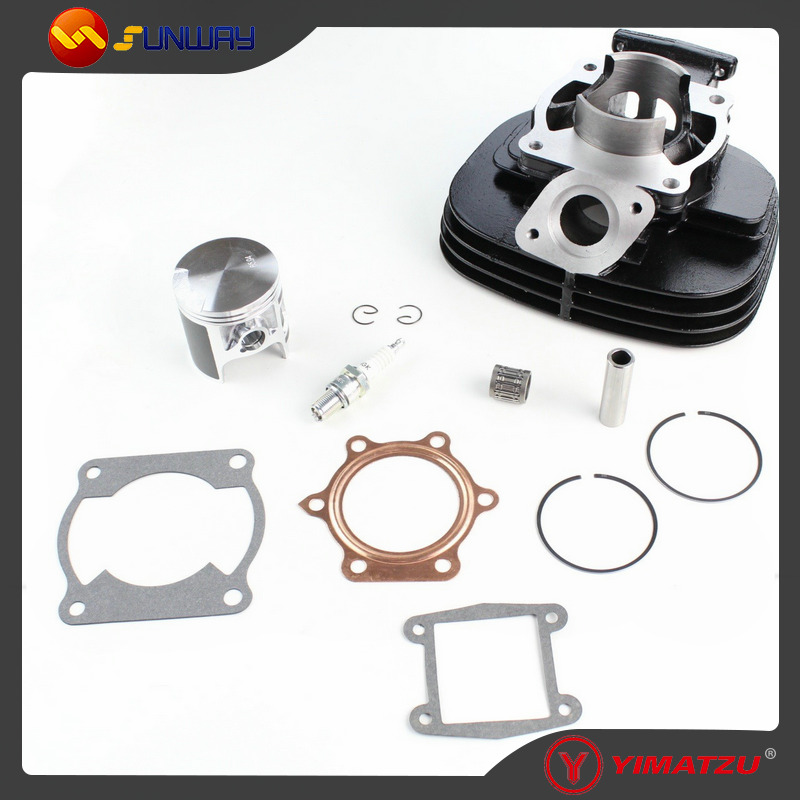 SUNWAY ATV Engine Parts 85mm  Cylinder Kit for YAMAHA BLASTER 200 YFS200 DT200 200CC ATV Quad Bike jiangdong engine parts for tractor the set of fuel pump repair kit for engine jd495