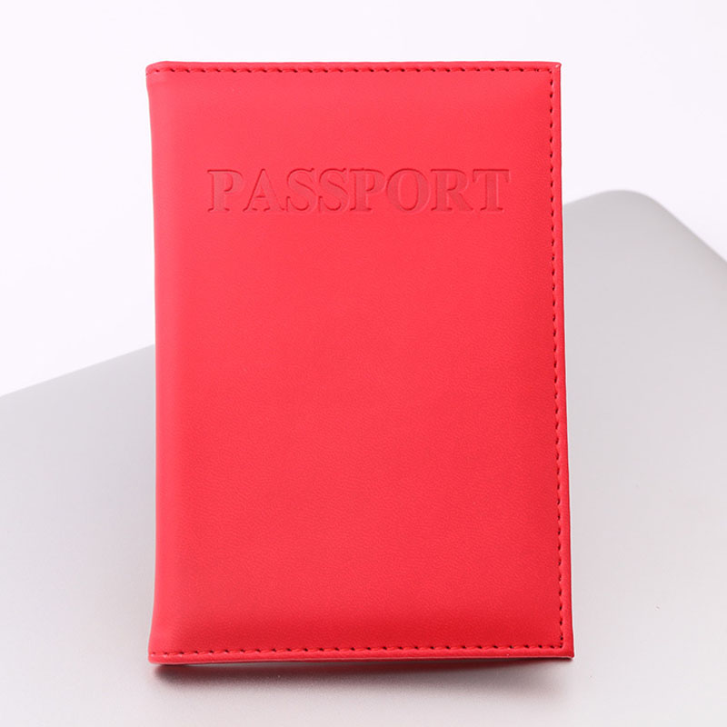 OKOKC Cute Candy PU Passport Covers Travel Passport Case Multifunction Credit Card Package ID Holder Travel Accessories